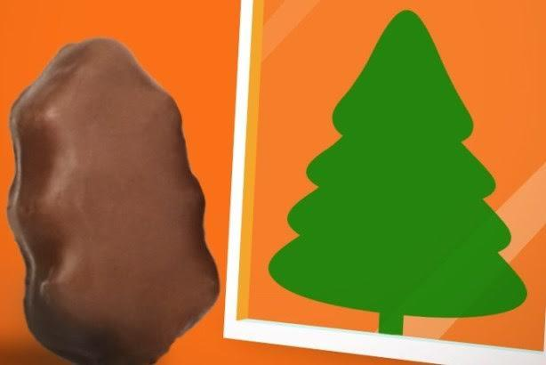 hershey pa reeses is making light of complaints that its christmas tree shaped peanut butter cups look like turds by reminding customers that all