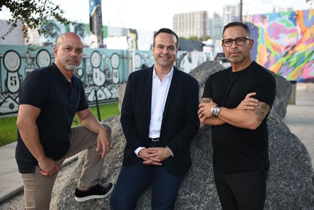 (L-R) Luis Casamayor, Jorge Plasencia, and Paul Marobella