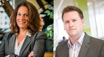Maryellen Royle and Jon Clark (via LinkedIn)