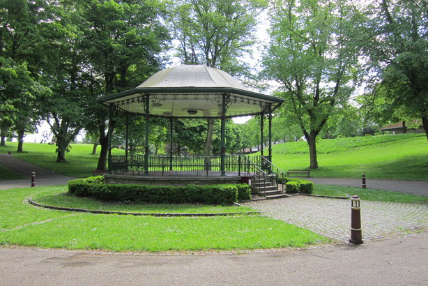 Bellevue Park, Wrexham, is one of hundreds of parks and open spaces in Britain that have had funding from the National Lottery