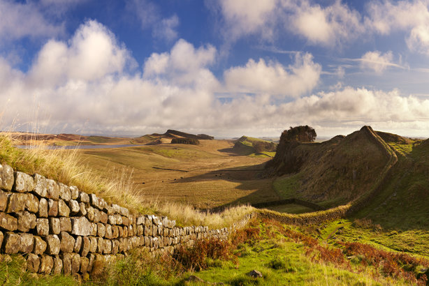 Hadrian's Wall, Northumberland, is one of the county's important cultural assets