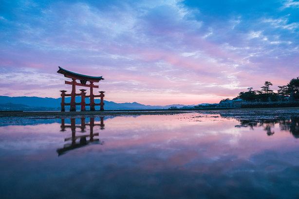 Itsukushima Shrine, Japan (Pic credit: Setouchi Tourism Authority)