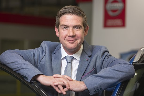 Paul James, general manager of corporate communications at Nissan Europe