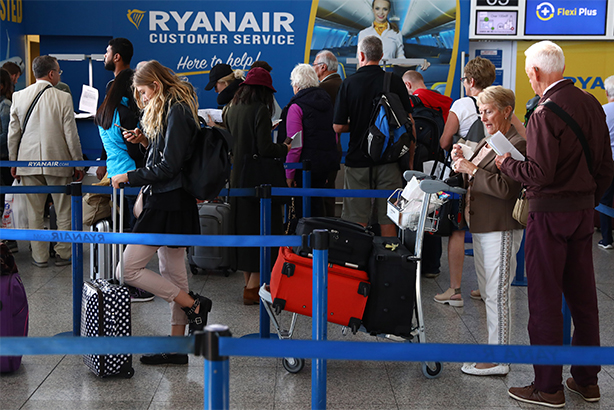The Ryanair debacle of cancelled flights shows the importance of internal comms, says Huw Morgan (pic credit: Neil Hall/EPA-EFE/REX/Shutterstock)
