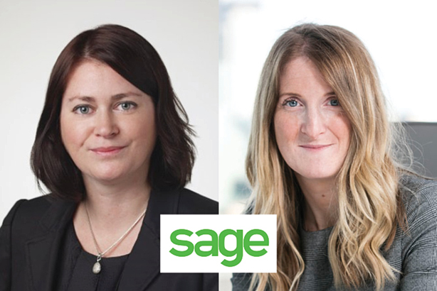 Thompson (l) is among comms hires at Sage by Lawson (r)