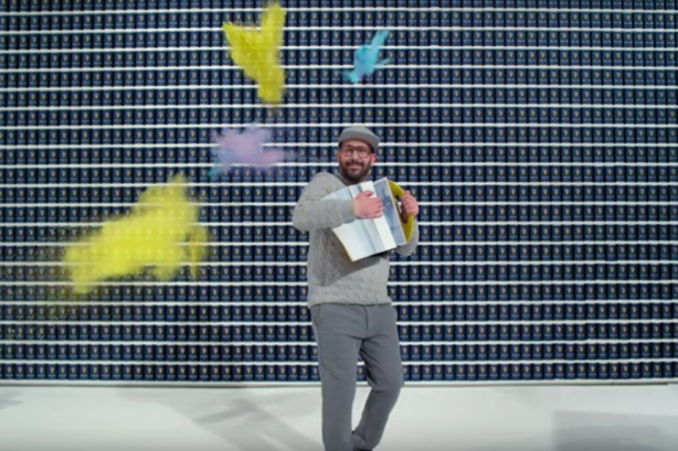 "Still from OK Go's video ""The One Moment"""
