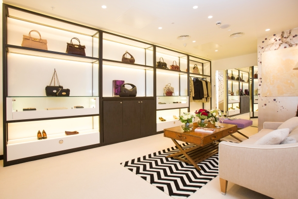 Heathrow Airport's personal shopping lounge