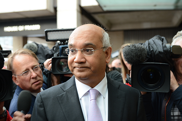 Vaz has been Leicester East MP since 1987 (Credit: Marc Ward/REX/Shutterstock)