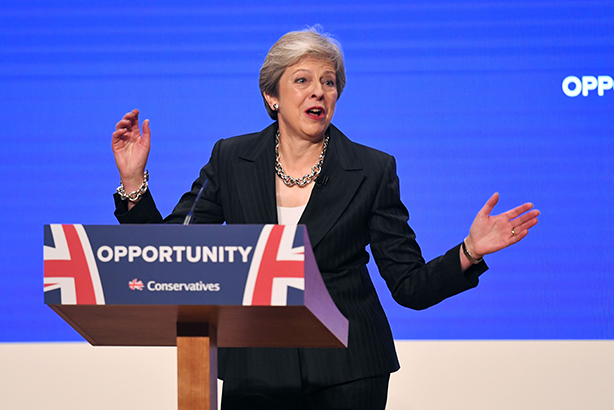 Dancing Queen? The Prime Minister avoided the pitfalls of last year's conference in a speech that went down well with our commentators