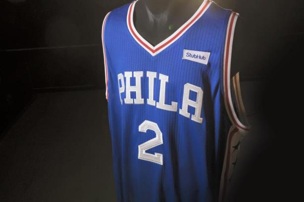 The Philadelphia 76ers became the first major pro sports team in the U.S. to roll out a jersey sponsorship on Monday. Fans were less than impressed.