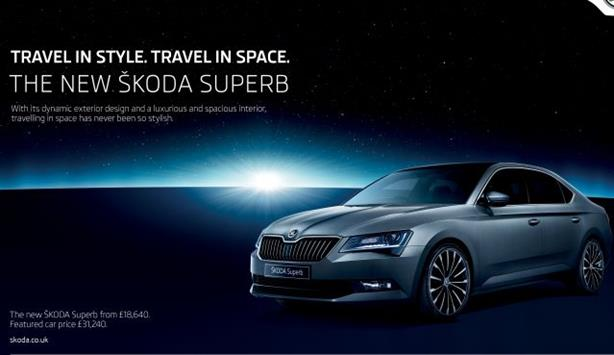 Skoda UK: Brand releases through-the-line campaign to support car launch