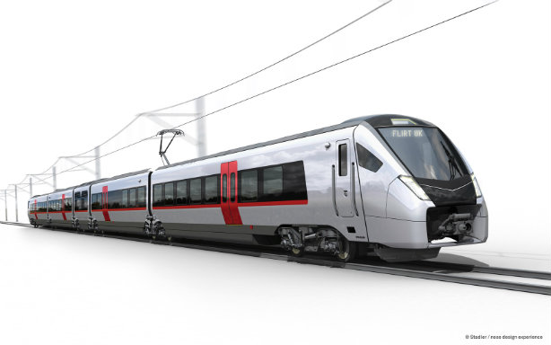 A Stadler design for UK franchise Abellio Greater Anglia
