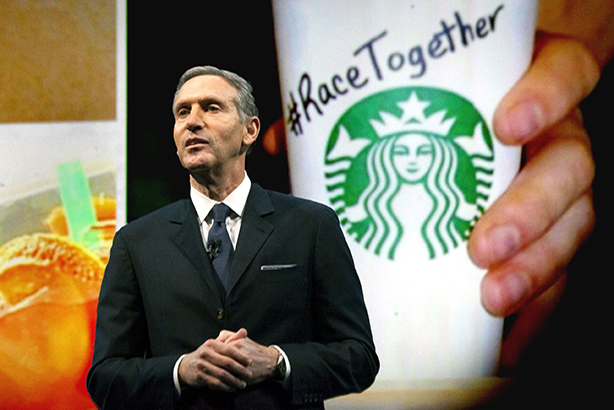 In a March 22 memo, CEO Howard Schultz lauded Race Together for starting a necessary dialogue