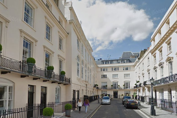 The merged company is working from the old Fleming Family & Partners HQ in London's Suffolk Street (Credit: Google Earth)