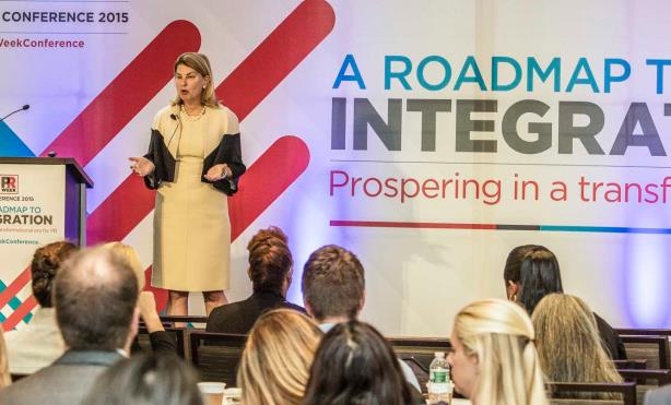 At PRWeek's annual conference in September