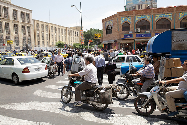 Iran's capital city, Tehran: open for Western business (Credit: Ajber)