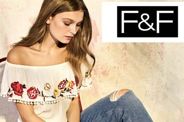5a1b3dc9379e Clothing brand F&F hires Publicasity for wide-ranging European brief