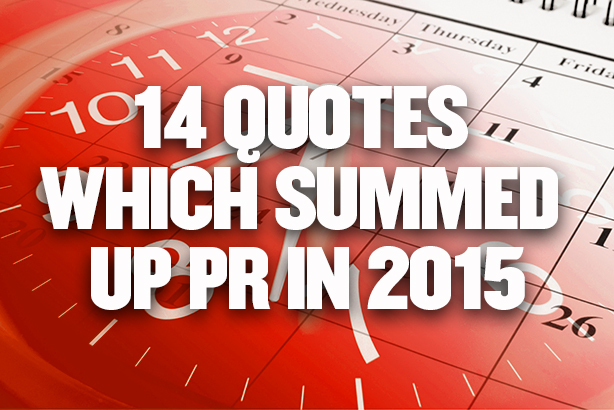 40 Quotes Which Summed Up PR In 40 PR Week Gorgeous Pr Quotes