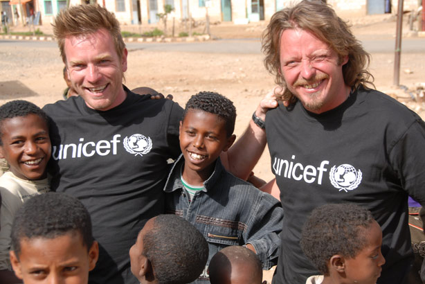 Unicef: one of many charities to work with celebrities (Credit: David Alexanian)
