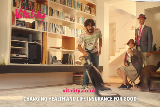 Active: a still from a recent ad