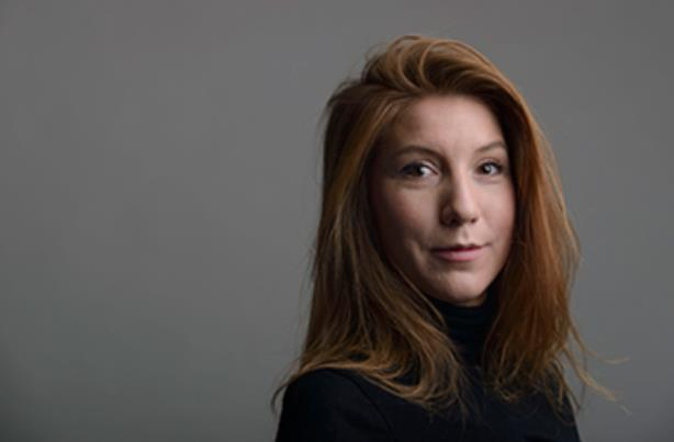 Kim Wall. (Image via IMWF's Facebook account).