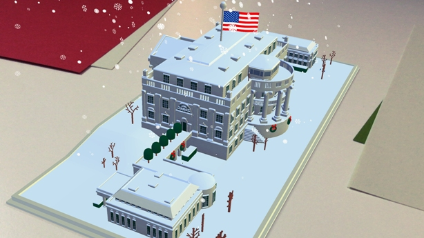 The White House reveals new greetings card powered by augmented reality