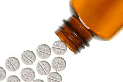 Paracetamol overdose can result in liver damage and death. | SCIENCE PHOTO LIBRARY
