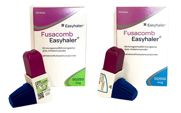 Fusacomb Easyhaler can be used in patients whose asthma is not adequately controlled with a short acting ß2 agonist and inhaled corticosteroids. | Orion Pharma