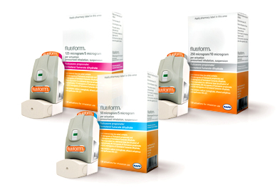 Flutiform can be used in patients who are not adequately controlled on an inhaled corticosteroid and an 'as required' inhaled short-acting ß2 agonist, and those who are adequately controlled on both an inhaled corticosteroid and a LABA.