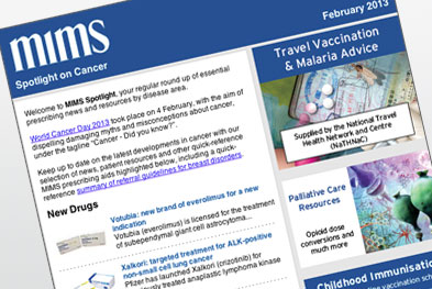 Each issue of MIMS Spotlight focusses on a different disease area.