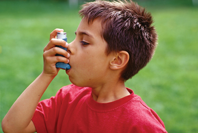 1.1 million children are currently receiving treatment for asthma in the UK. | SCIENCE PHOTO LIBRARY