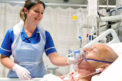 Hospital-acquired pneumonia occurs more frequently in patients on ventilators | SCIENCE PHOTO LIBRARY