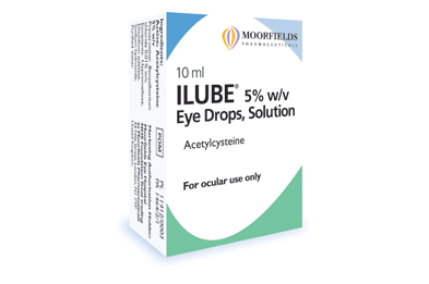Ilube also contains the ophthalmic lubricant hypromellose
