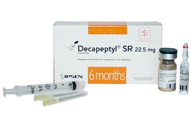 As Decapeptyl SR 22.5mg is a suspension of microparticles, intravascular injection must be strictly avoided