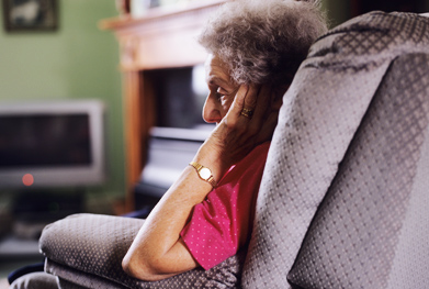 Depression in the elderly is widespread and undertreated  | SCIENCE PHOTO LIBRARY