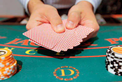 Pathological gambling is defined as being unable to resist impulses to gamble and can have serious personal and social consequences | SCIENCE PHOTO LIBRARY