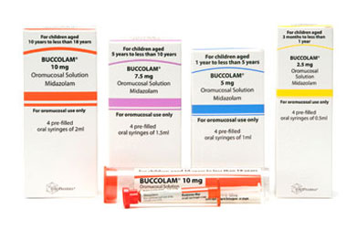 First licensed buccal midazolam product (Buccolam) among latest SMC recommendations