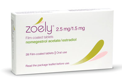 Zoely is taken continuously, in 28-day cycles consisting of 24 active therapy days followed by 4 placebo days.