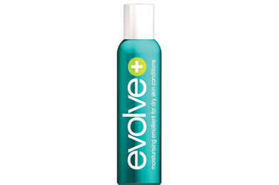 Evolve Plus can be used to relieve dry skin conditions such as eczema and psoriasis