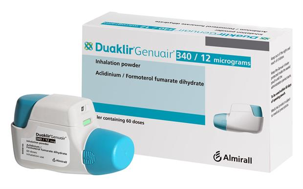 The recommended dose of Duaklir Genuair is one inhalation twice daily.
