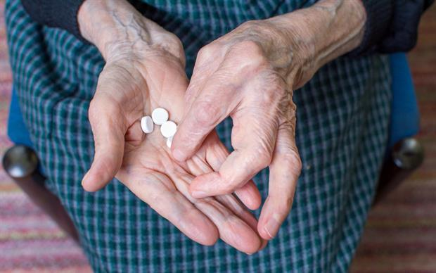 Patients with dementia may be particularly susceptible to the adverse effects of certain medications. | iStock.com/Creative-Family