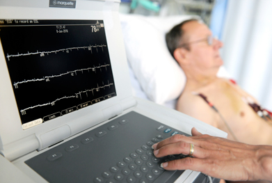 Continuous cardiac monitoring is required during dexmedetomidine infusion | SCIENCE PHOTO LIBRARY