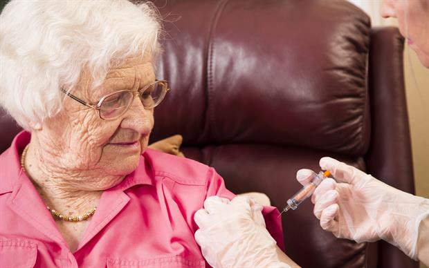 Flu in elderly