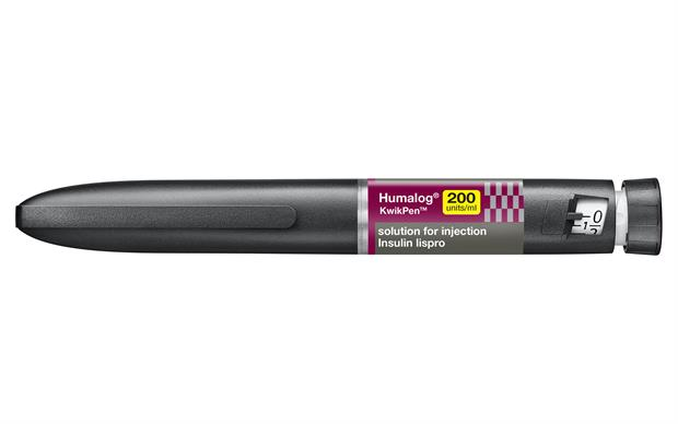 Each single pack of Humalog 200 units/ml contains 5 x 3ml pre-filled pen devices.