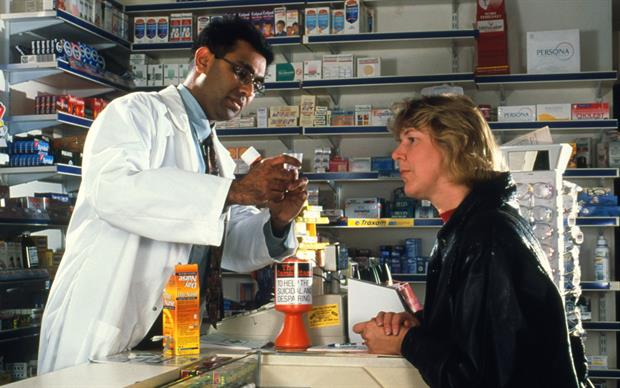 In the year prior to June 2017, the NHS spent approximately £569m on prescriptions for minor conditions which could otherwise be purchased over the counter from a pharmacy and/or other outlets.   GEOFF TOMPKINSON/SCIENCE PHOTO LIBRARY