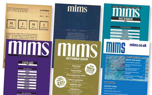 MIMS has evolved to meet prescribers' changing needs over the past 60 years.
