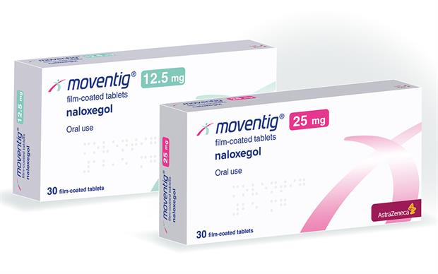 Naloxegol (Moventig) reduces the constipating effects of opioids without lessening their analgesic benefits.
