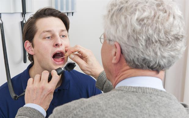 Most sore throats are caused by viral infections. | iSTOCK