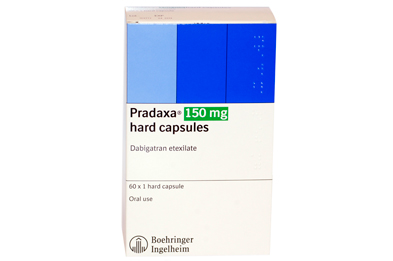 Only the 110mg and 150mg capsules of Pradaxa (dabigatran) are licensed for the new DVT and PE indications.
