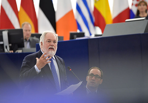 People: Miguel Arias Canete, (photograph: European Union 2015/Source : EP)